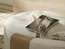 Cozy guestroom seating area