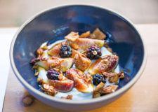 Straus yogurt fruit bowl