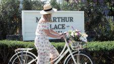Girl-On-Bike-MacArthur-Sign