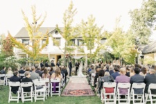 A Garden Wedding of Family and Friends