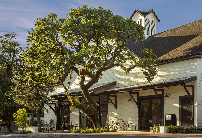 MacArthur Place Historic Barn Façade