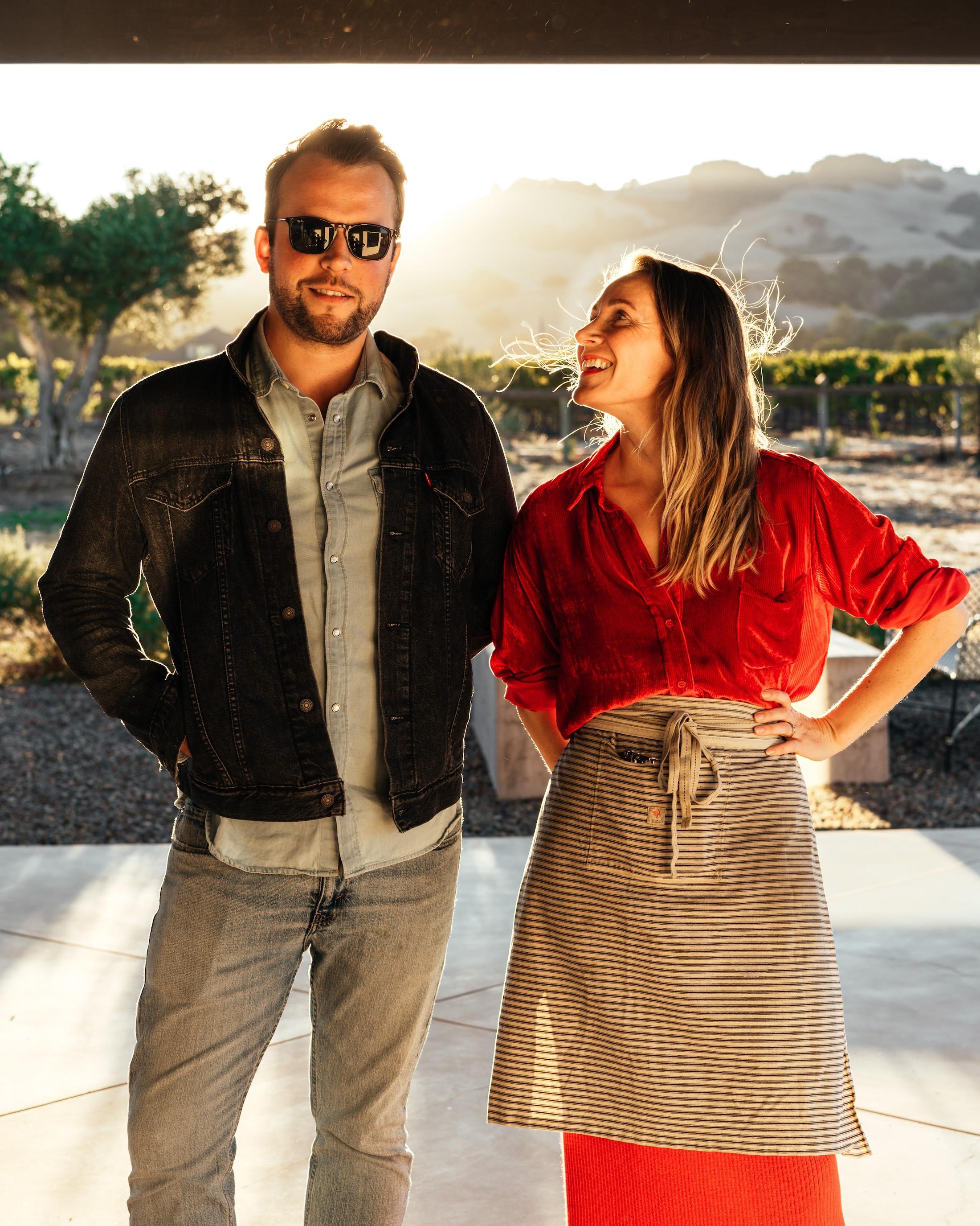 Lauren Feldman and Tanner Walle, co-owners of Valley Bar + Bottle