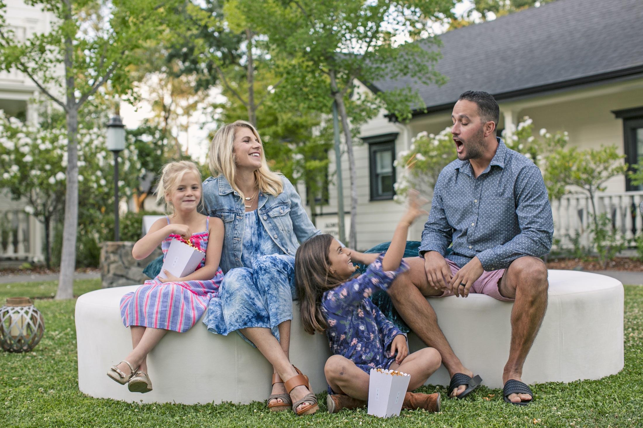 Family-friendly West Lawn