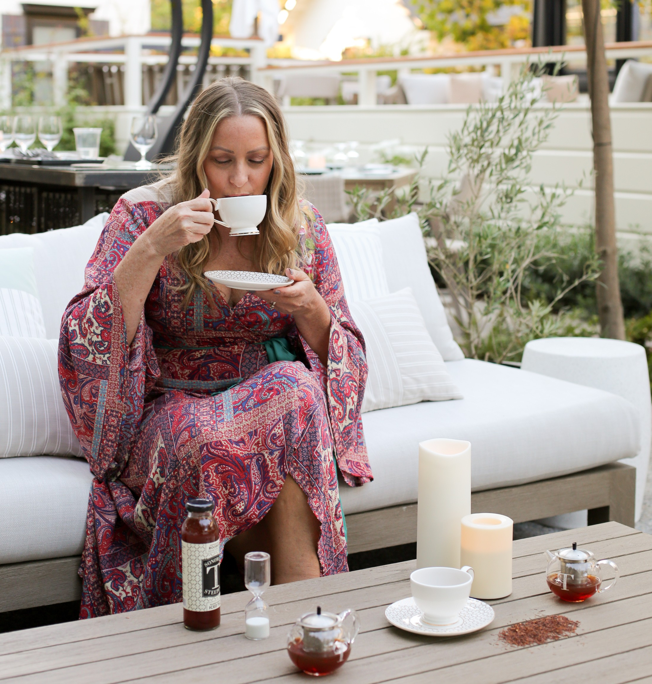 Alison Kilmer, founder of UppercaseTea shares her perfect Autumn day in Sonoma